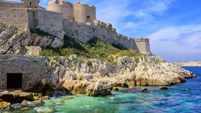 Chateau d'If, Frioul Islands, (Marseille