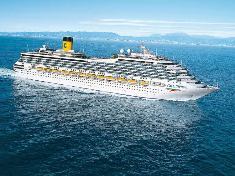 Photogallery And Videos Of The Costa Fortuna Costa Cruises